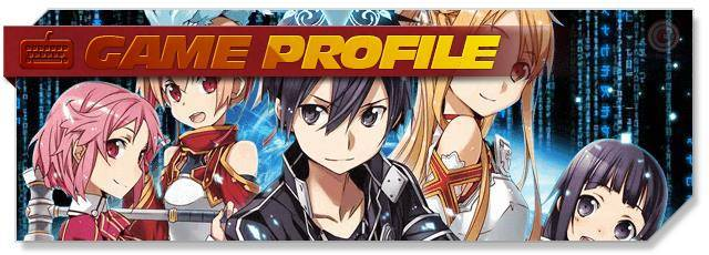 SAO's Legend - Game Profile headlogo - EN