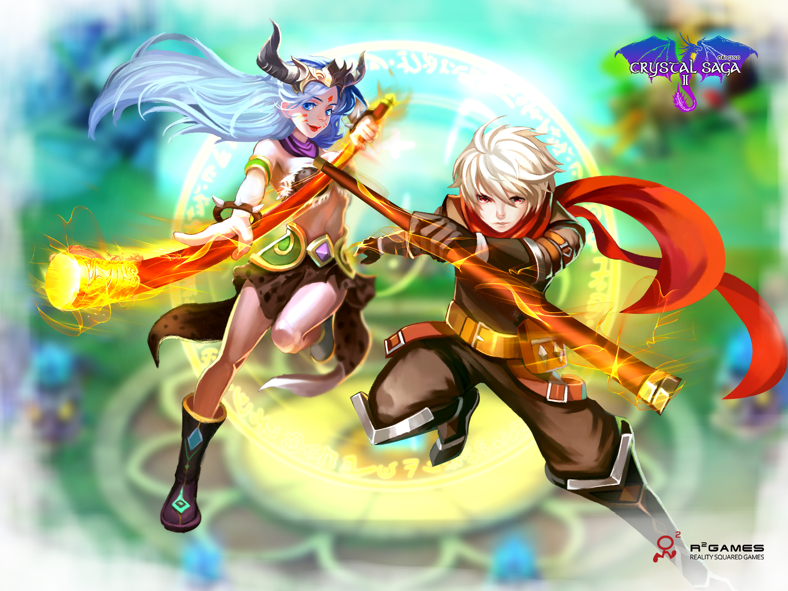 Crystal Saga II Goes Into Open Beta Free2Play browser-based MMO