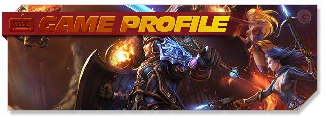 Heroes Evolved - Game Profile headlogo - EN
