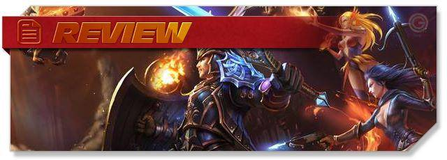 Heroes Evolved Review - Heroes Evolved MOBA