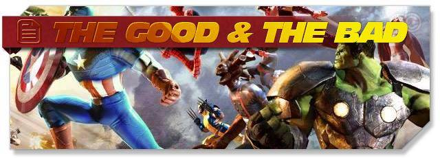 Marvel Heroes - Good & Bad headlogo - EN