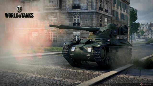 First Look at World of Tanks