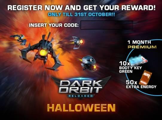 darkorbit halloween giveaway