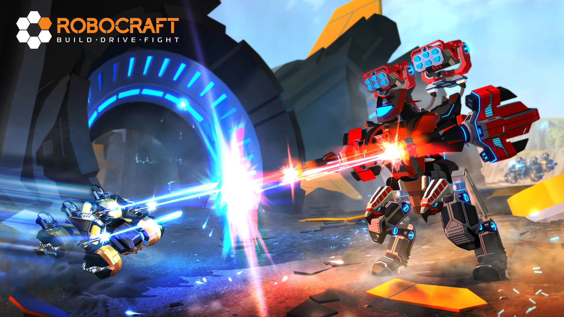 New Expansion for Robocraft: Fast and Formidable