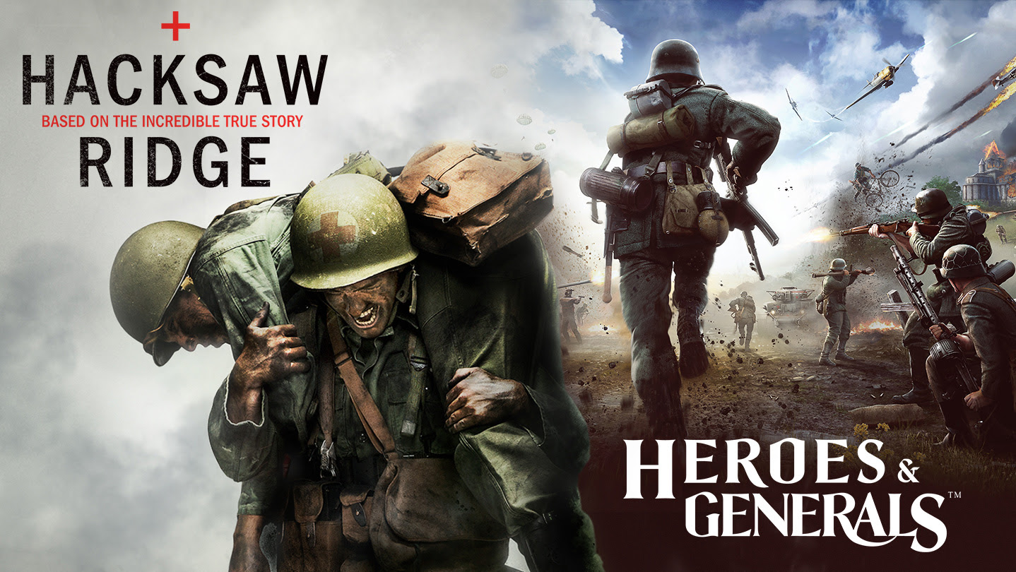 Hacksaw Ridge and Heroes & Generals