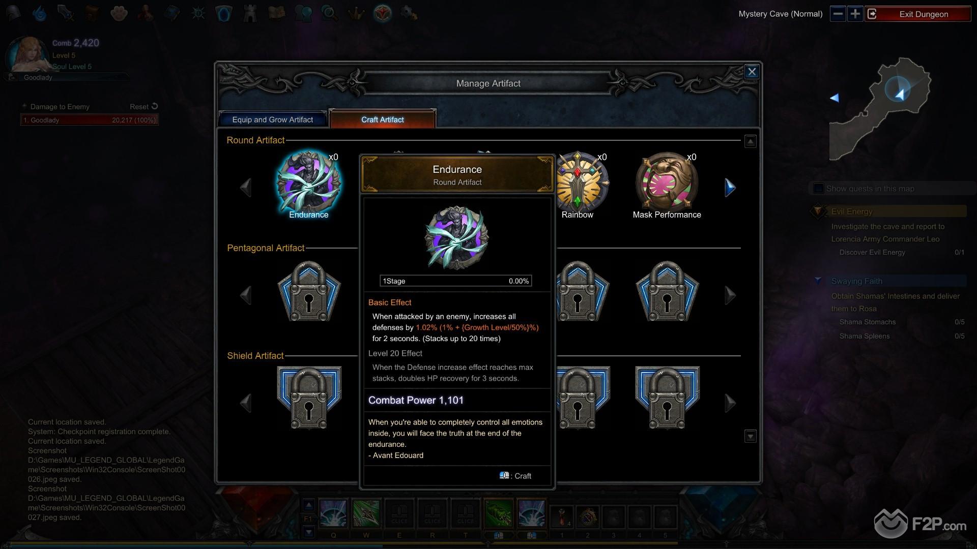 MU Legend screenshot 19