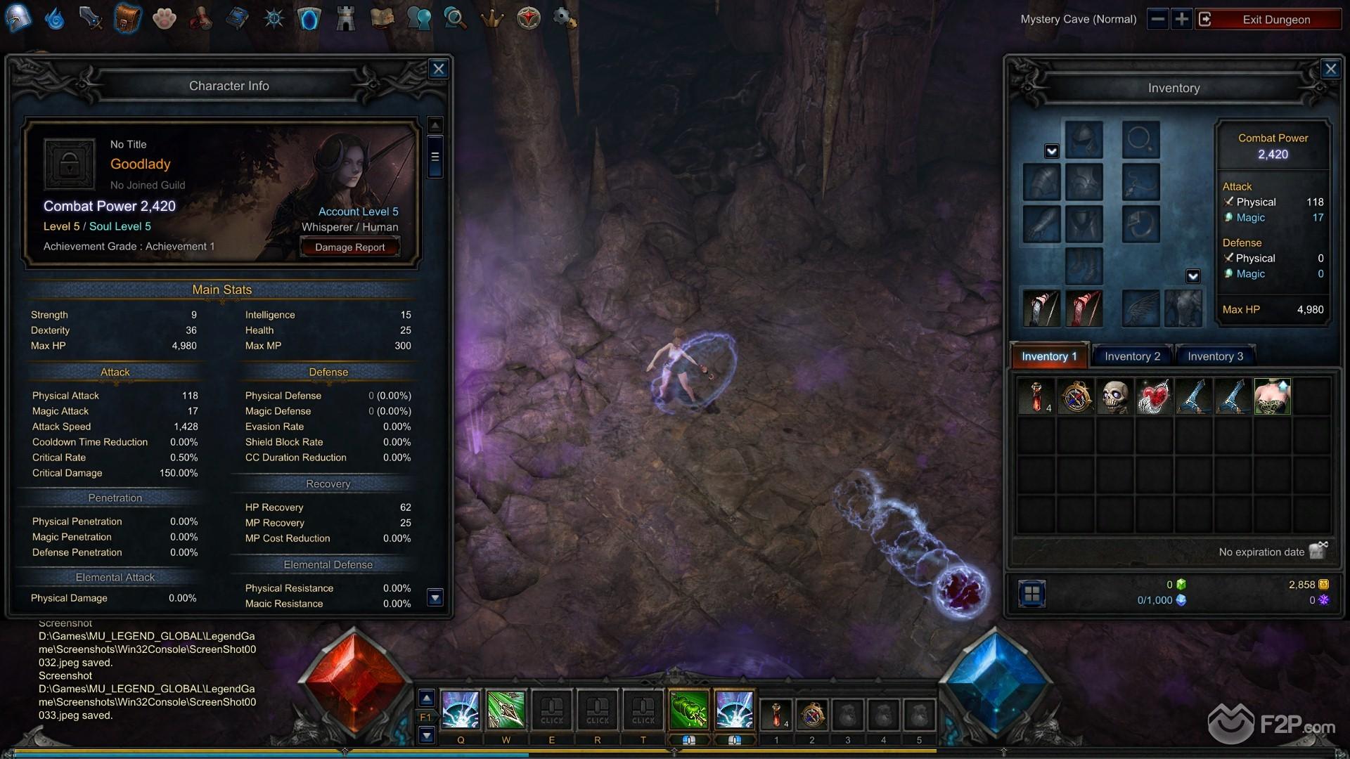 MU Legend screenshot 12