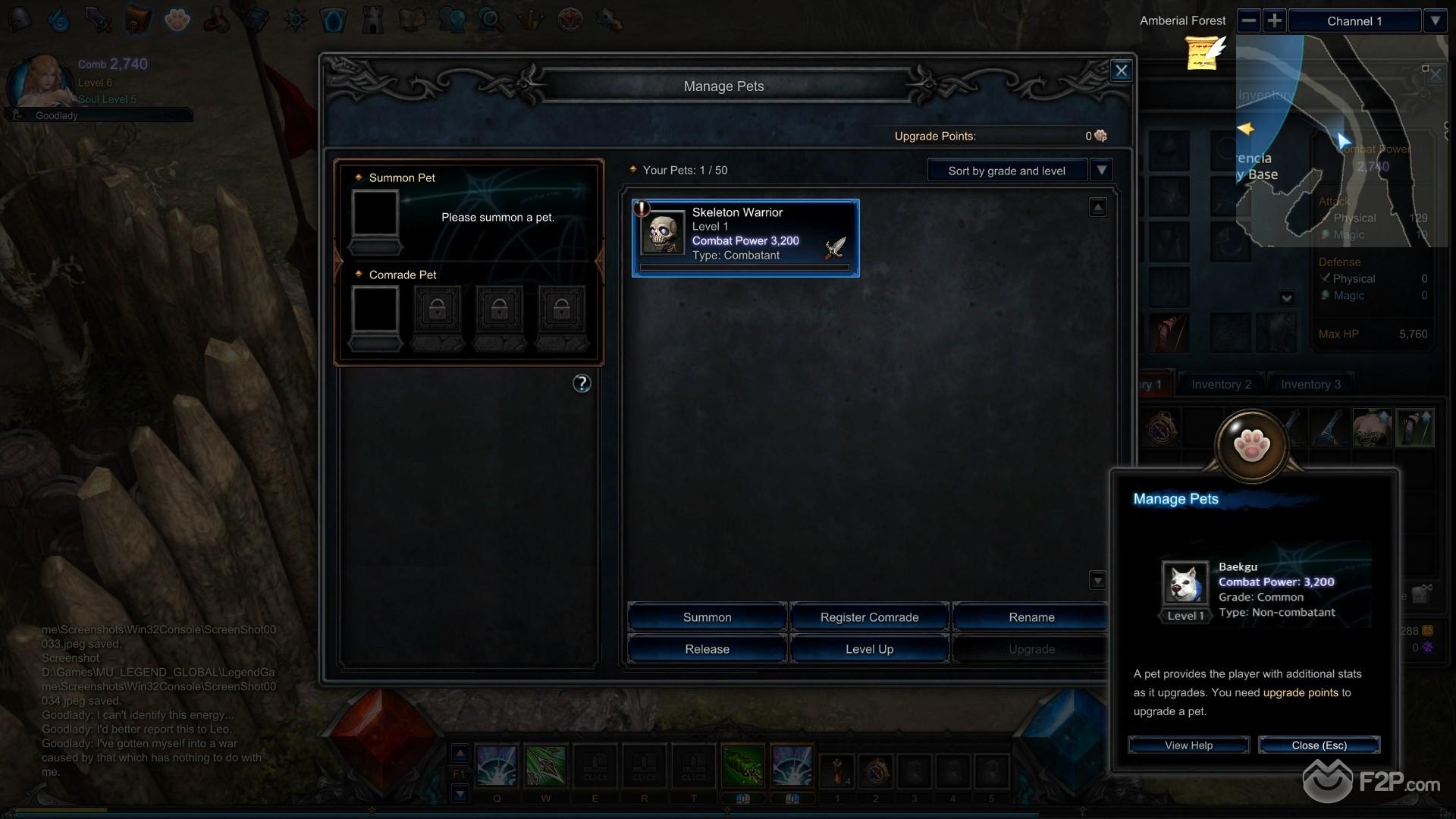 MU Legend screenshot 11