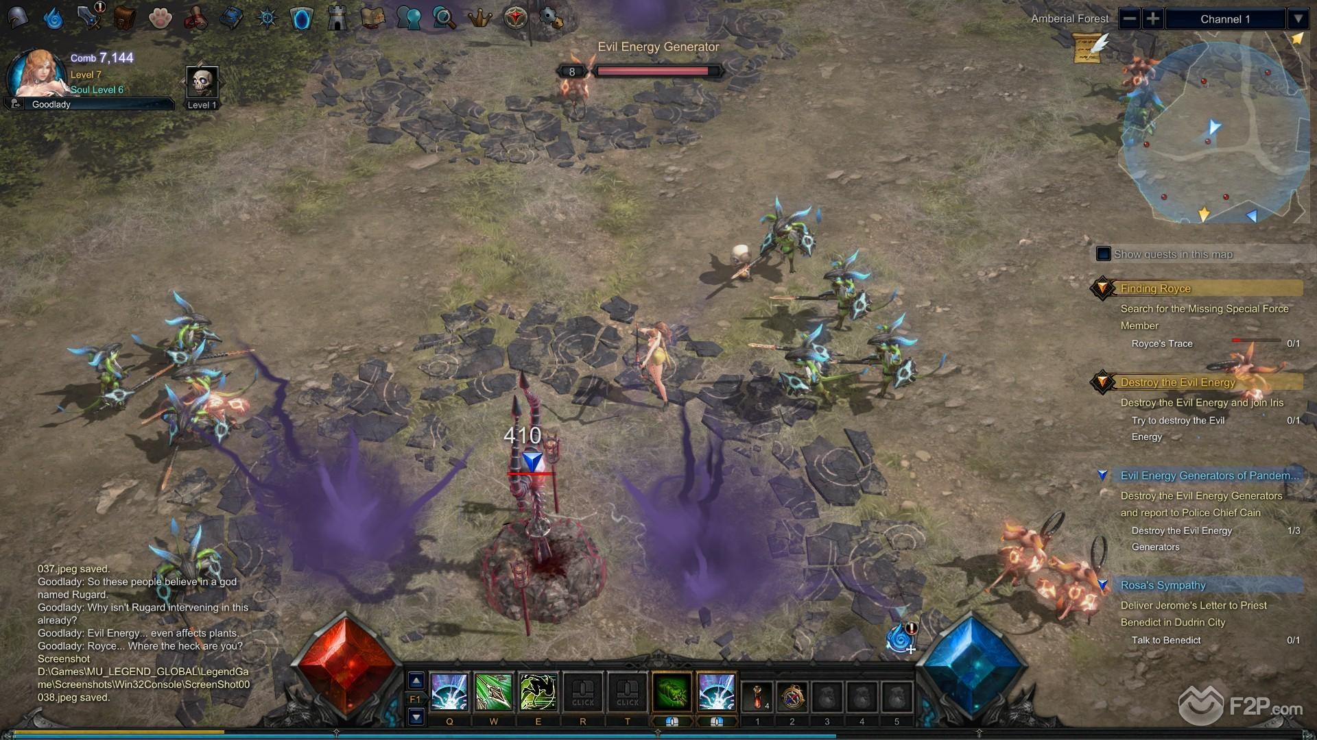 MU Legend screenshot 6