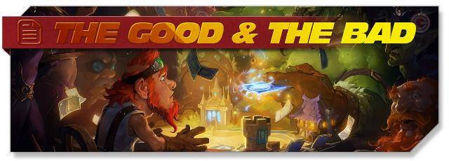 Hearthstone: The Good & The Bad
