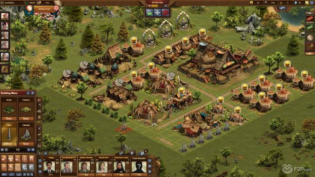 Forge of Empires Cross-platform MMO RTS Free to Play Game