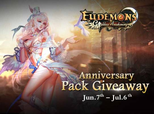 Eudemons Online Anniversary Free Pack Giveaway