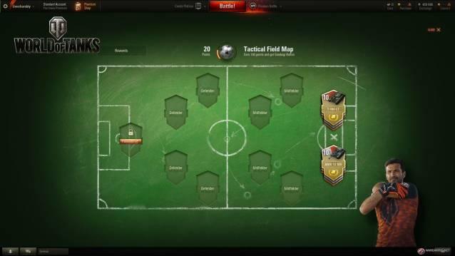 Gianluigi Buffon Celebrates World Cup 2018 with World of Tanks PC