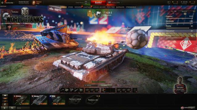WoT free to play massively multiplayer online action game