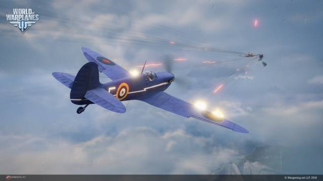 World of Warplanes free-to-play combat MMO