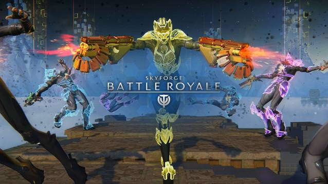 Battle Royale - SkyForge is a free-to-play sci-fi meets fantasy MMORPG