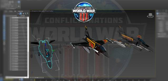 Conflict of Nations Unit Jet