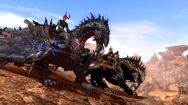 Guardians of the Sky Arrives TERA Online free-to-play MMORPG