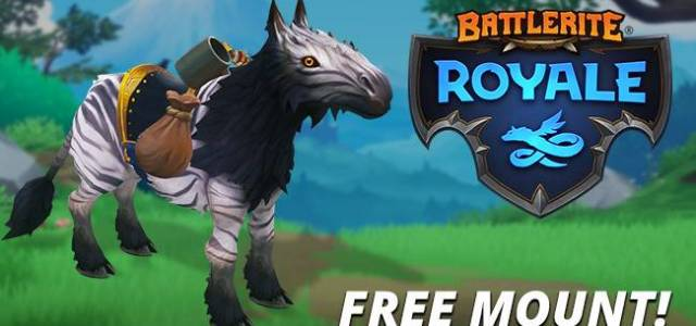 Battlerite Royale Free Mountain Zebra Mount for Steam