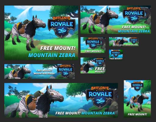 Free Mountain Zebra Mount for FREE