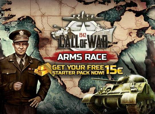 Call of War Free Starter Pack Giveaway