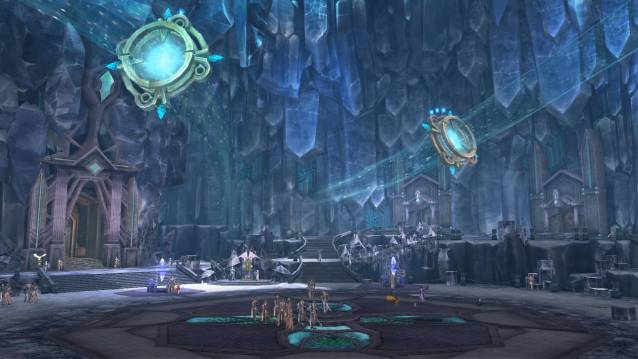 Aion Redesigned Zones in Beluslan Fortress