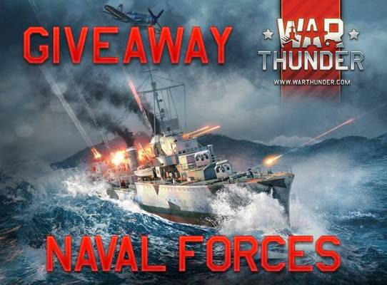 War Thunder Naval Battles Beta Key Giveaway for PC