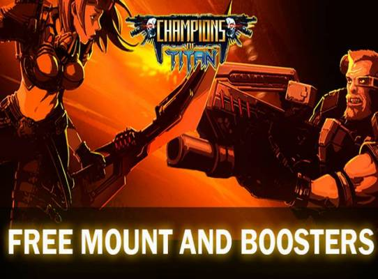 Champions of Titan offers a number of different ways to play, combining elements of MMORPGs, MOBAs, and battle royales.