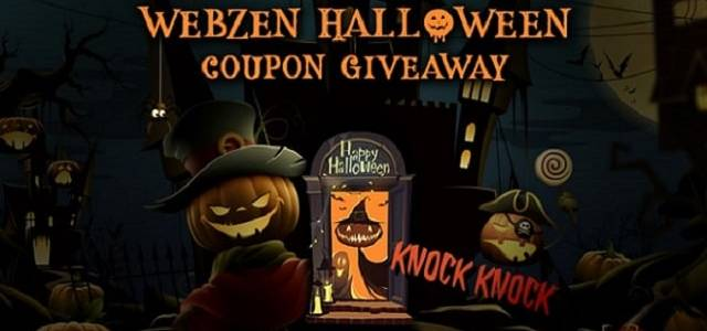 WebZen Halloween Event Gift Pack Giveaway