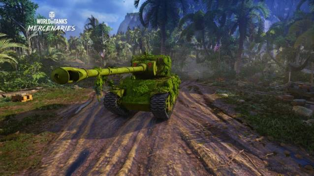 World of Tanks: Mercenaries . WoWT Update 4.7