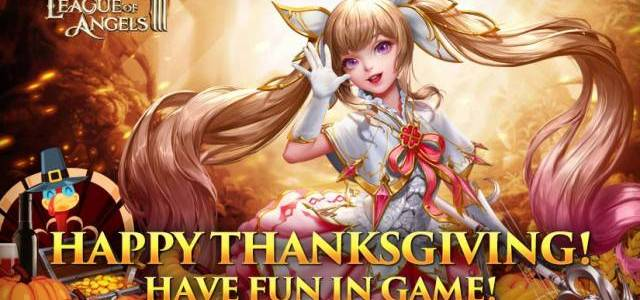League of Angels III Celebrates Thanksgiving
