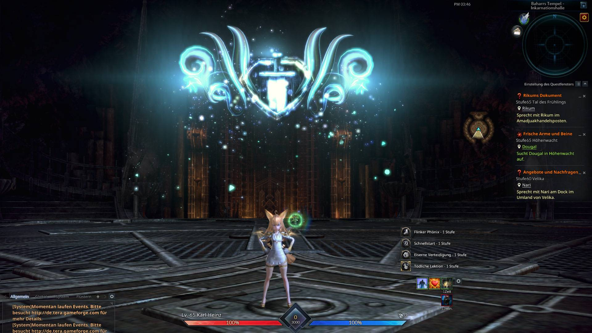 TERA Update Introduces Talent System, New Dungeon and Elin