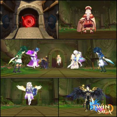 Twin Saga Dungeon Senshi Temple