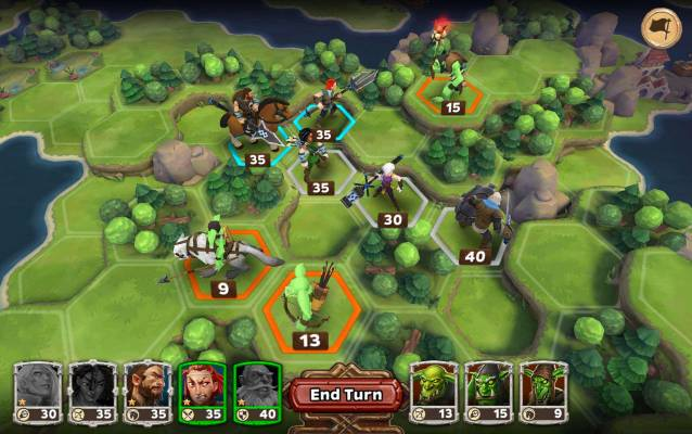 Warlords of Aternum is a turn-based strategy game for mobile devices.