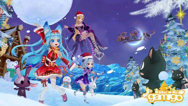 Aura Kingdom Christsmas Event