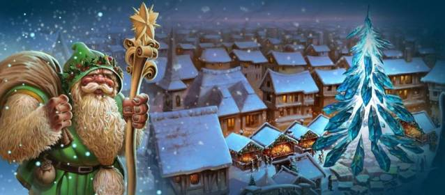 Elvenar Winter Event. Elvenar MMO RTS Free-to-Play for Browser, iOS and Google Play