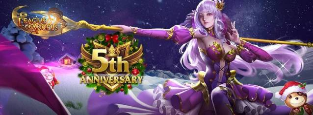League of Angels 5th Anniversary - League of Angel Free-to-Play Browser MMORPG Game