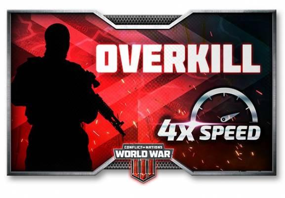 Conflcit of Nations World War III Overkill 4X Event