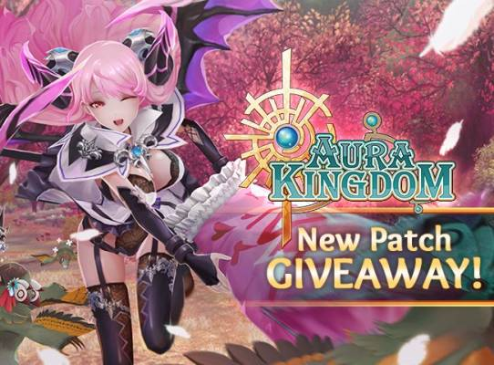 Aura Kingdom Gift Key Giveaway for the new update