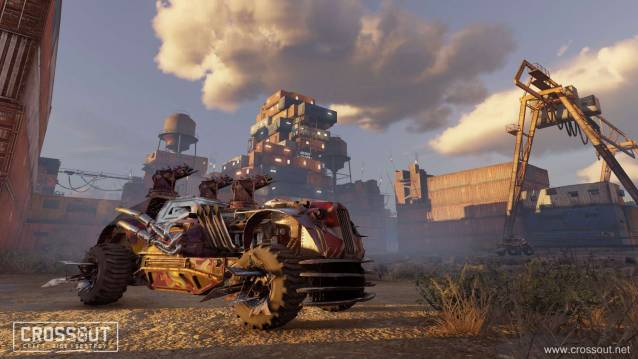 Crossout New Sky