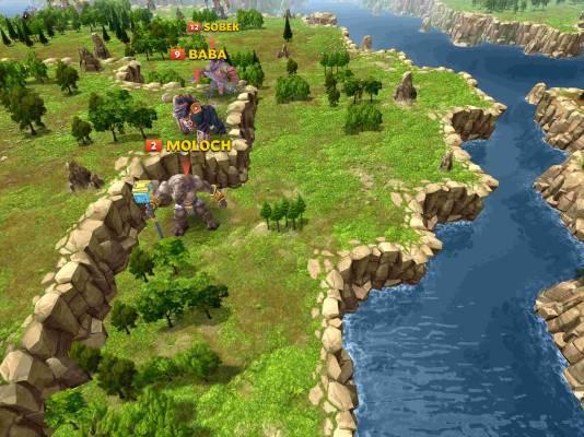 God Kings Map Screenshot