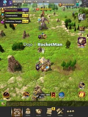 God Kings UI Screenshot
