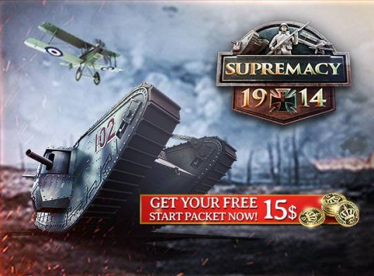 Starter Pack Supremacy 1914 US