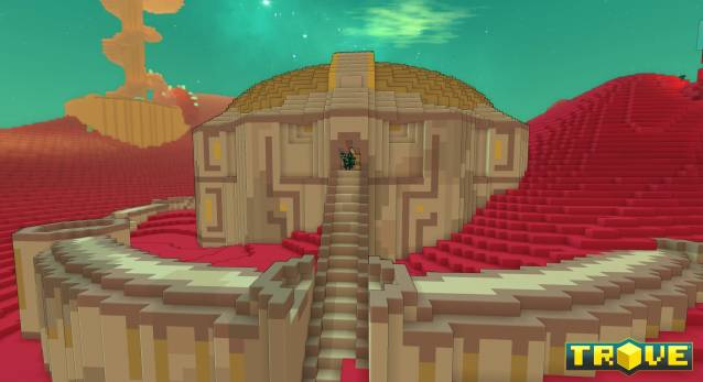 Trove Crystal Combat Update for Consoles Out Now Geode Dungeon