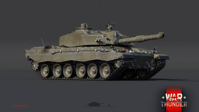 War Thunder Challenger 2- War Thunder Gears Up for Modern War