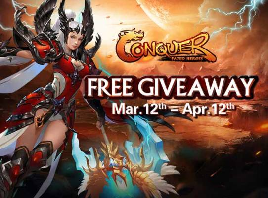 Conquer Fated Heroes Giveaway