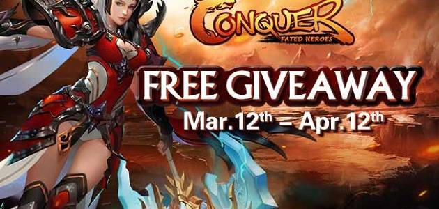 Conquer Online Fated Heroes Gift Pack Giveaway