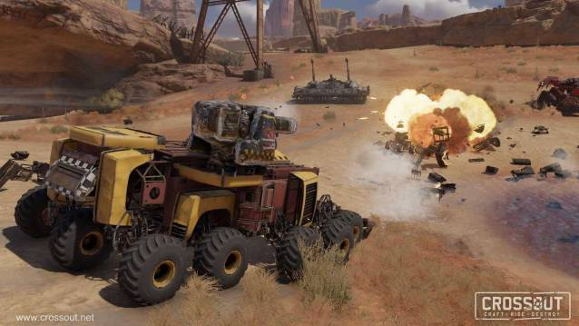 Crossout Custom Battle