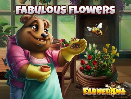 Farmerama Fabulous Flowers Event
