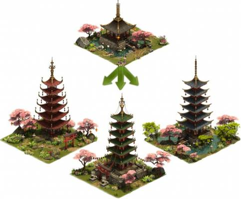 Forge of Empires Update your Pagoda